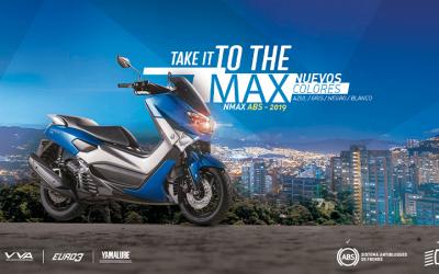 Yamaha Nmax 2021 en Medellín: ¡recargada!