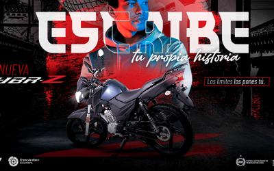 ¡Te traemos una excelente noticia!: Lanzamos la nueva Yamaha YBRZ